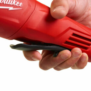 Amoladora Milwaukee de interruptor de hombre muerto